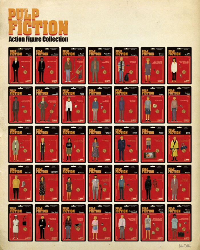 Max Dalton's Pulp Fiction Action Figures Full