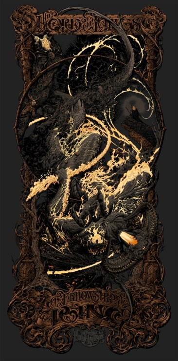 Aaron Horkey Fellowship of the Ring Variant