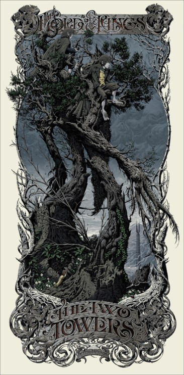 Aaron Horkey - The Two Towers