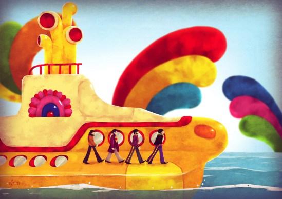 Andry Rajoelina - Yellow Submarine