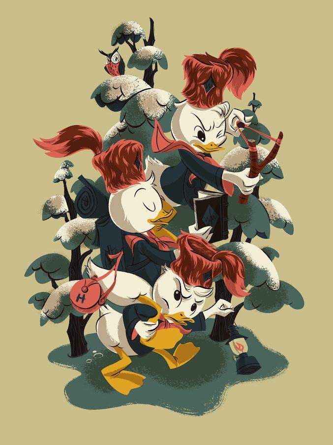Anne Benjamin - Nephews Ducktales