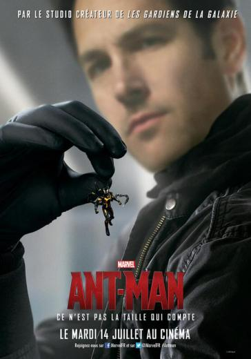 Ant-Man poster - Scott and Yellowjacket