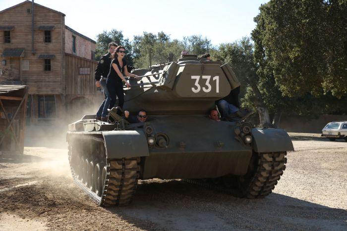 Arnold Tank Rides 7