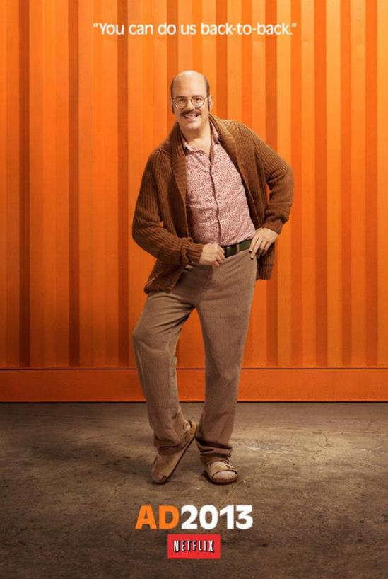 Arrested Development poster - Tobias