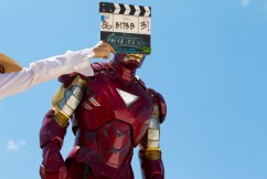Avengers BTS Iron Man