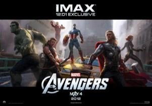 Avengers IMAX Poster