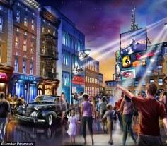 BBC theme park - Mission Impossible