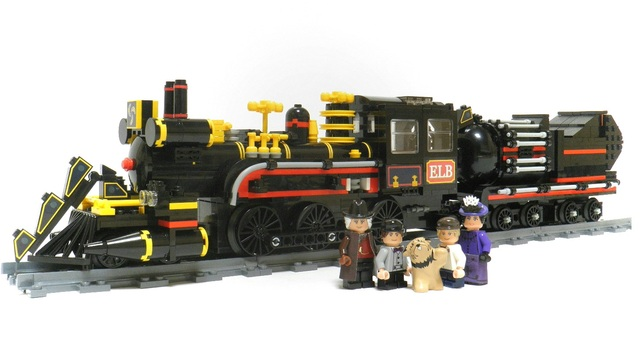 Back to Future Lego Train 1