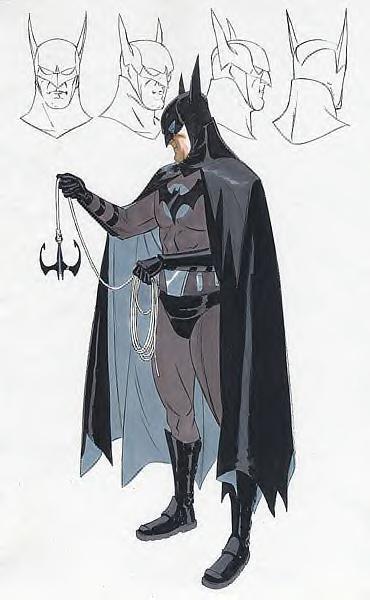 Batman Year One Concept 4