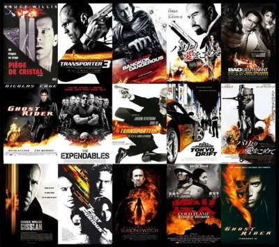 Black Orange Poster Trend