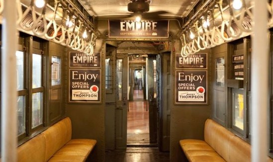 Boardwalk Empire Vintage Subway Train Header Image