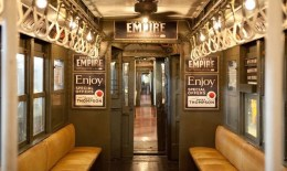 Boardwalk Empire Vintage Subway Train Header Image