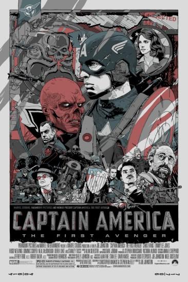 CAPTAIN AMERICA - Tyler Stout - Variant