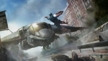 Captain America 2 Concept ship