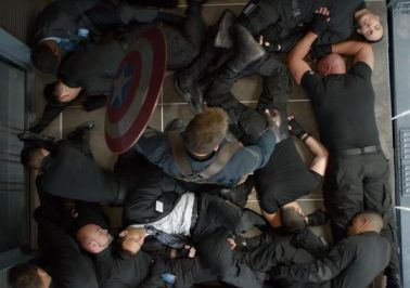 Captain America 2 elevator