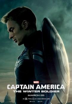 Captain America Winter Soldier Cap Poster