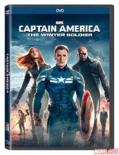 Captain America Winter Soldier DVD