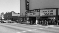 Coronet Star Wars marquee