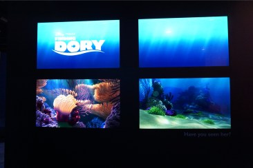 Finding Dory teaser at D23 Expo 2015
