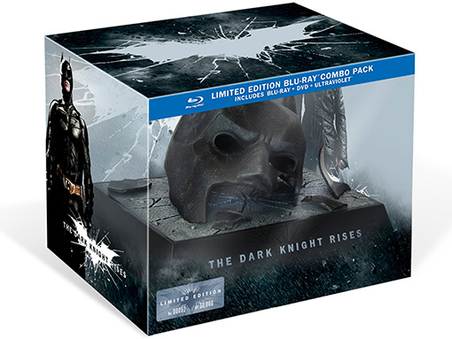 Dark Knight Rises LE Blu Batman