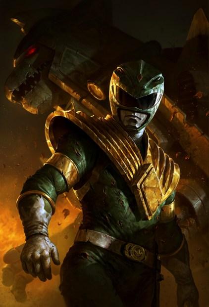 Dave Rapoza - Green Ranger