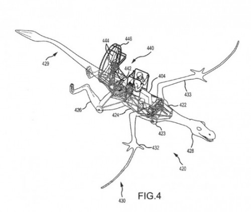 Disney Dragon Patent