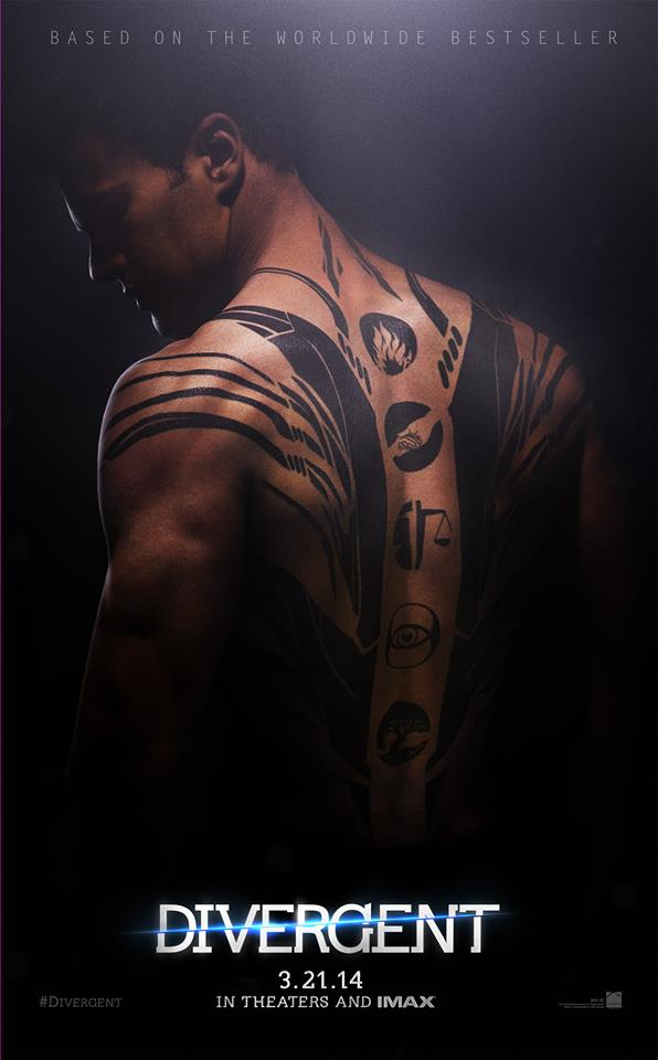 Divergent - Theo James as Four