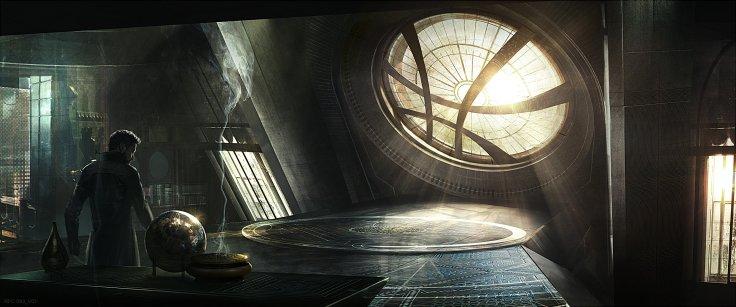 Doctor Strange concept art - Sanctum Santorum