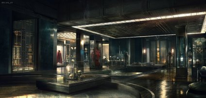 Doctor Strange concept art - room