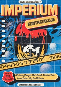 Empire Strikes Back Poland Poster