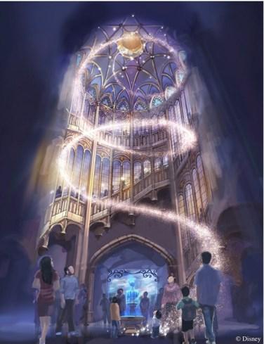 Enchanted Storybook Castle - interior