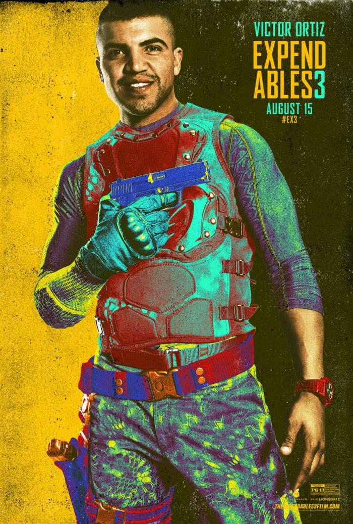 Expendables 3 - Victor Ortiz