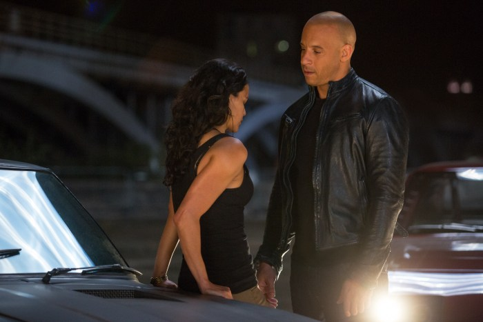 Fast and Furious 6 - Vin Diesel and Michelle Rodriguez
