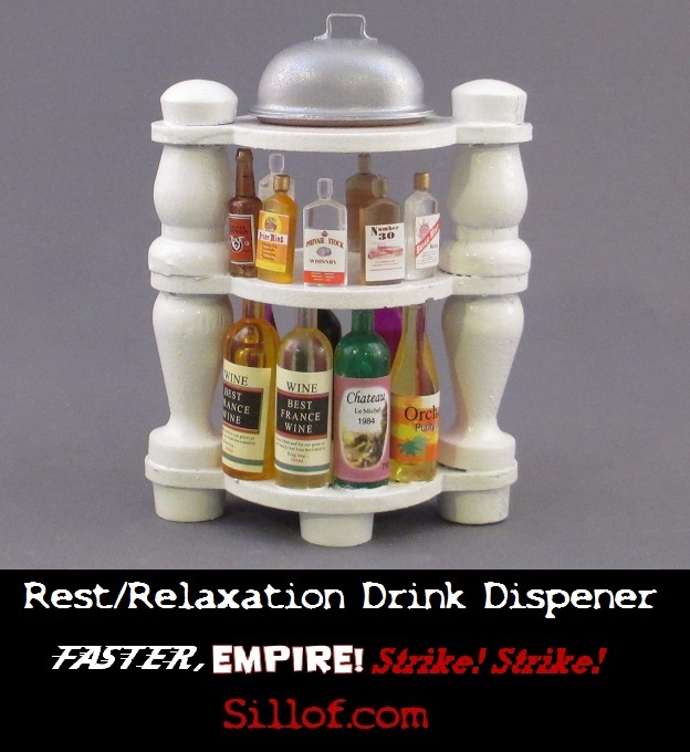 Faster Empire Strike Strike - Rest and Refreshment Drink Dispenser