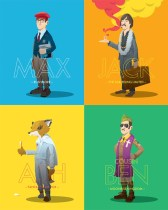 Florey - Multiple Wes Anderson