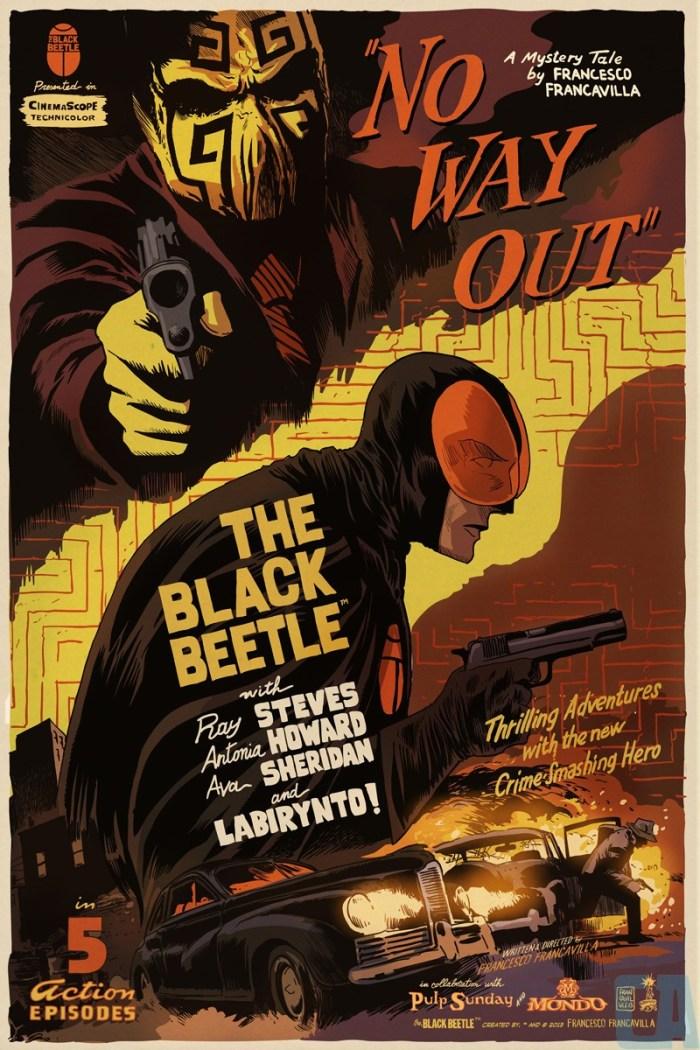 Francesco Francavilla - Black Beetle Variant