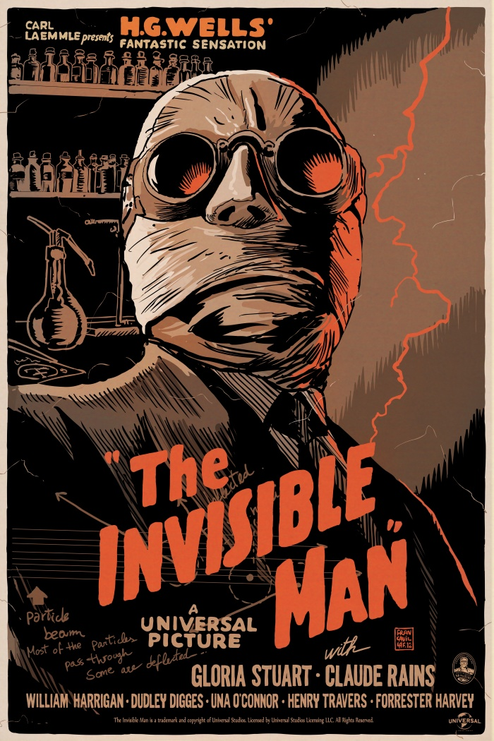 Francesco Francavilla - Invisible Man