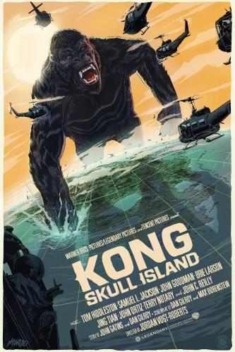 Francesco Francavilla's Kong: Skull Island Print