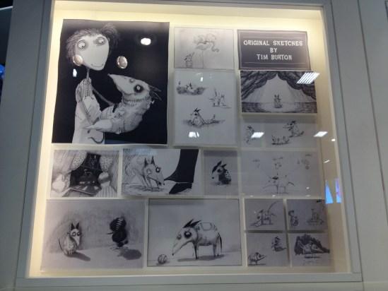 Frankenweenie - Tim Burton sketches