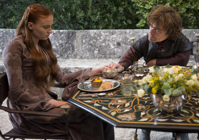 Game of Thrones Season 4 - Sansa and Tyrion