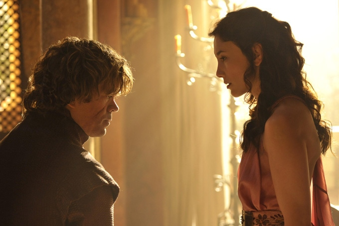 Game of Thrones Season 4 header - Tyrion and Shae