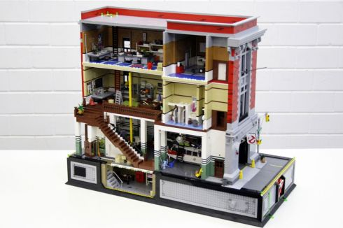 Ghostbusters HQ Lego 3