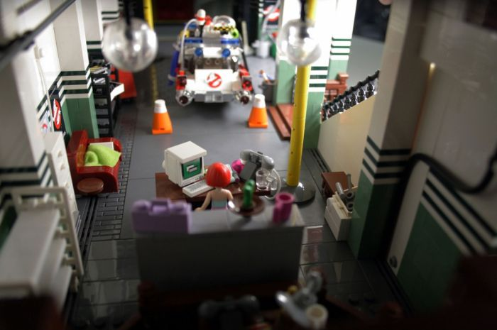 Ghostbusters HQ Lego 5