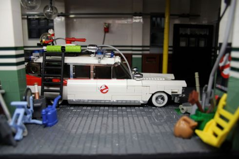Ghostbusters HQ Lego 6