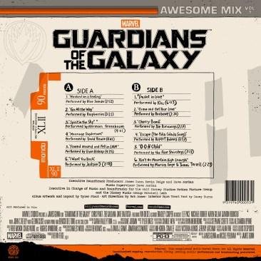 Guardians of the Galaxy vinyl 2