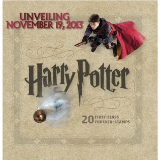 Harry Potter Stamps header