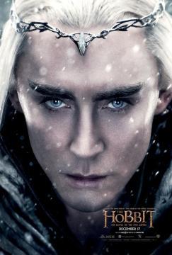 Hobbit Battle Five Armies Thranduil poster