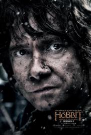 Hobbit Battle of Fice Armies Bilbo Poster 2