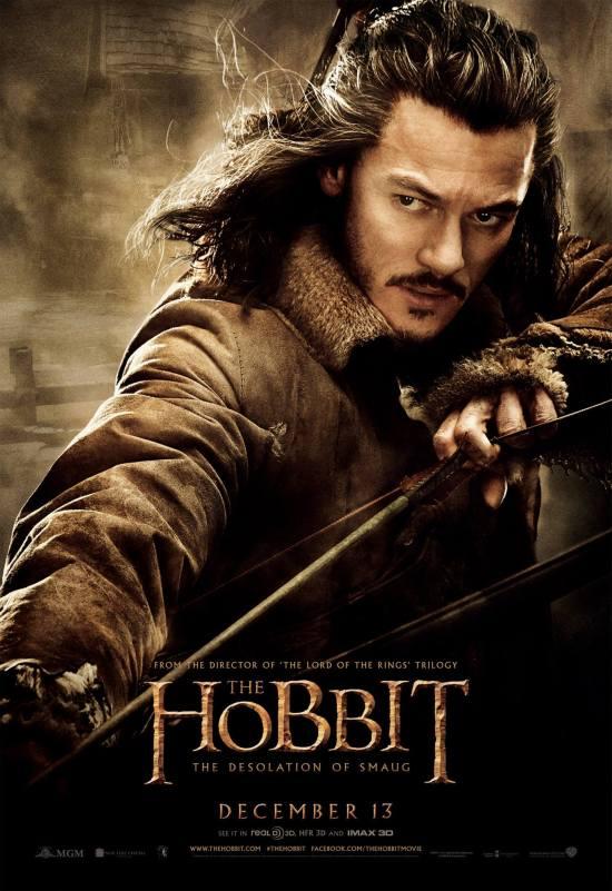 Hobbit Smaug Poster Bard