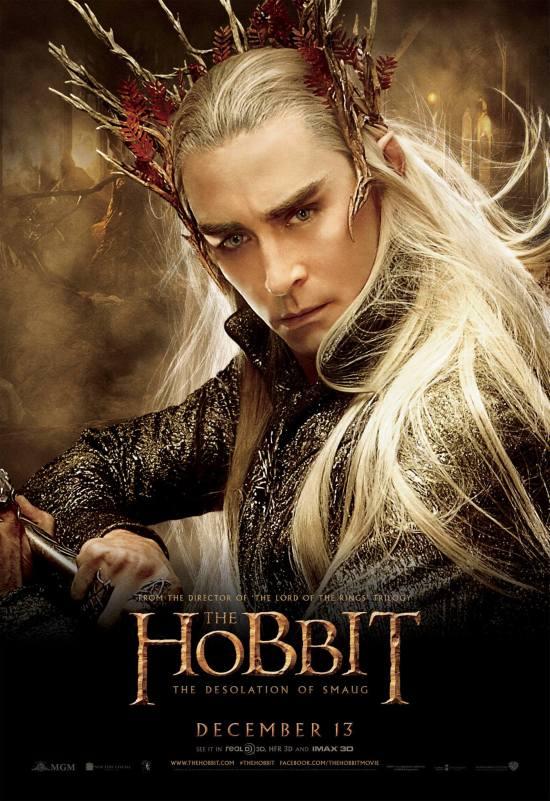 Hobbit Smaug Poster Thranduil